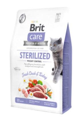 Brit Care Tahılsız Ördek Ve Hindi Etli Kısırlaştırılmış Diyet Yetişkin Kedi Maması 2 Kg