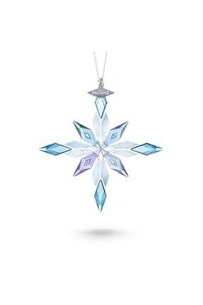 Swarovski Kadın Frozen 2 Kar Tanesi  Ornament Kolye 5492737