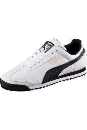 Puma Unisex Beyaz Roma Basic Co Spor Günlük Ayakkabı 353572