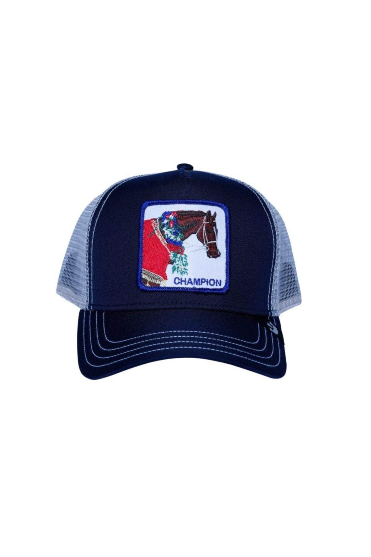 Goorin Bros Unisex Lacivert Champion Şapka 1