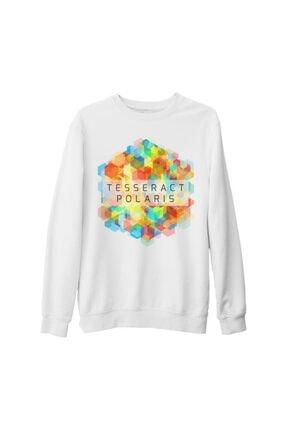 Lord T-Shirt Erkek Beyaz Kalın Tesseract Polaris Sweatshirt
