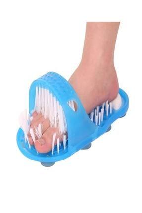 AnkaShop Banyo Ayak Yıkama Terliği Topuk Ponza Taşlı Vantuzlu Terapi Etkili