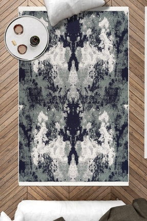 Caretta Home 160x230 Palet Desenli Mavi Dokuma Kilim