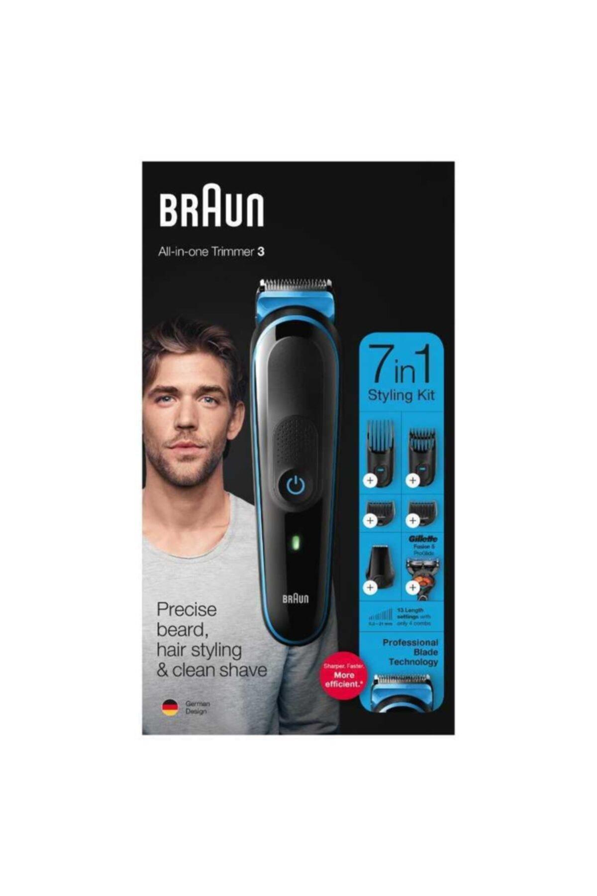 Braun Mgk 3245 Erkek Bakım Kiti 7in1 Şekillendirici + Gillette Hediye 2