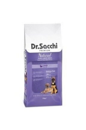 Dr. Sacchi Puppy Large Lamb Büyük Irk Yavru Köpek Maması 15 kg
