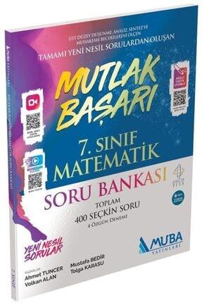Muba Yayınları 7.sınıf Matematik Mutlak Başarı Soru Bankası