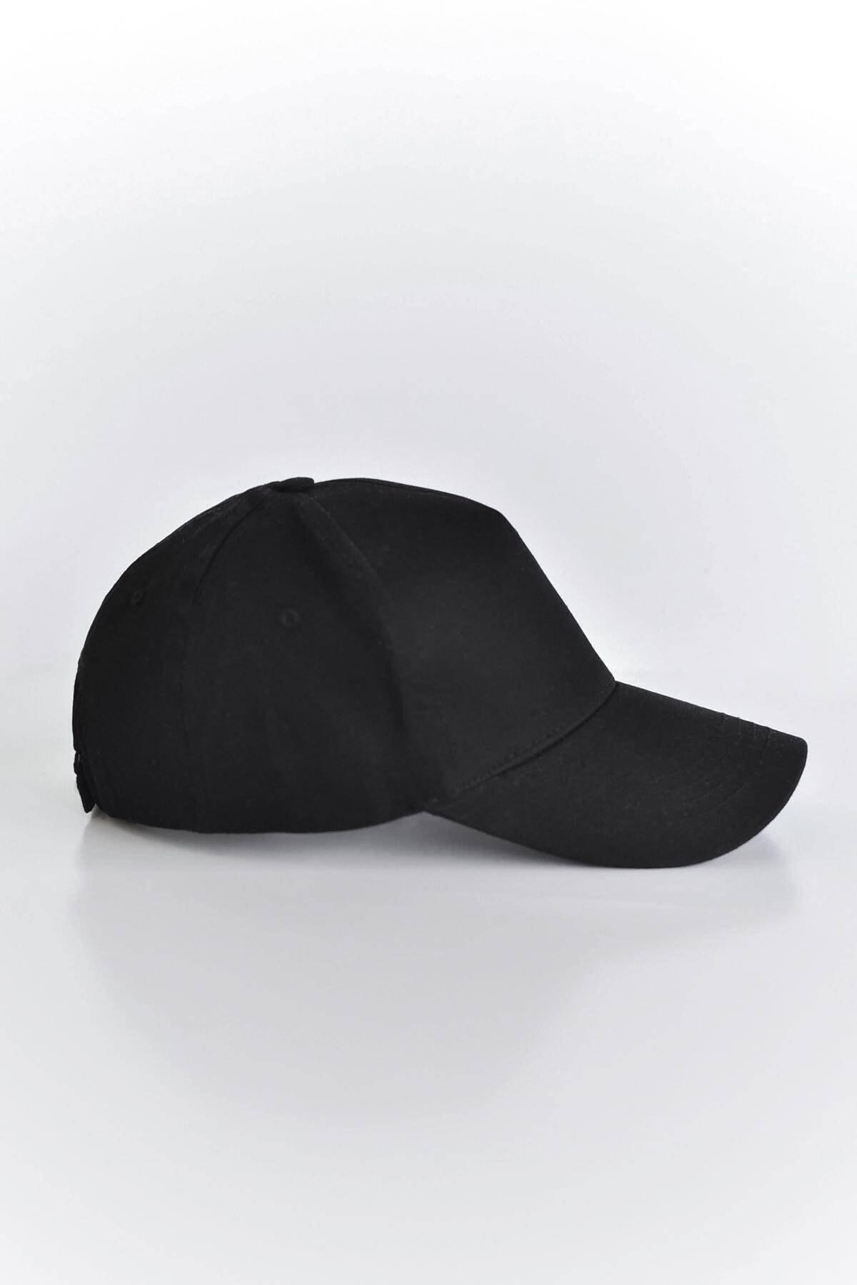 Addax Kadın Siyah Unisex Şapka ŞPK1007 - AKS ADX-0000022027 2