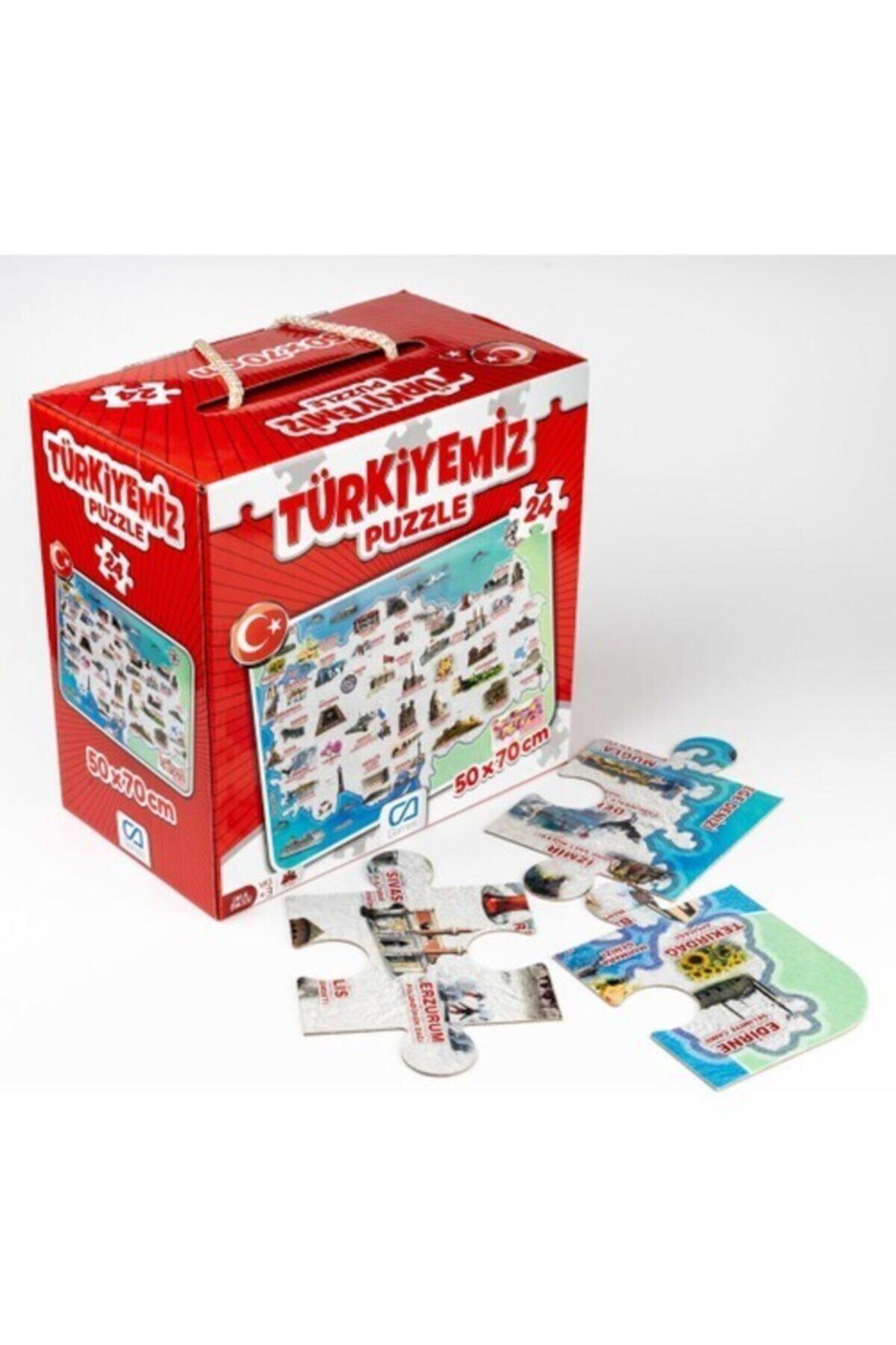 CA Games Ca.5079 Türkiyemiz Yer Puzzle 1