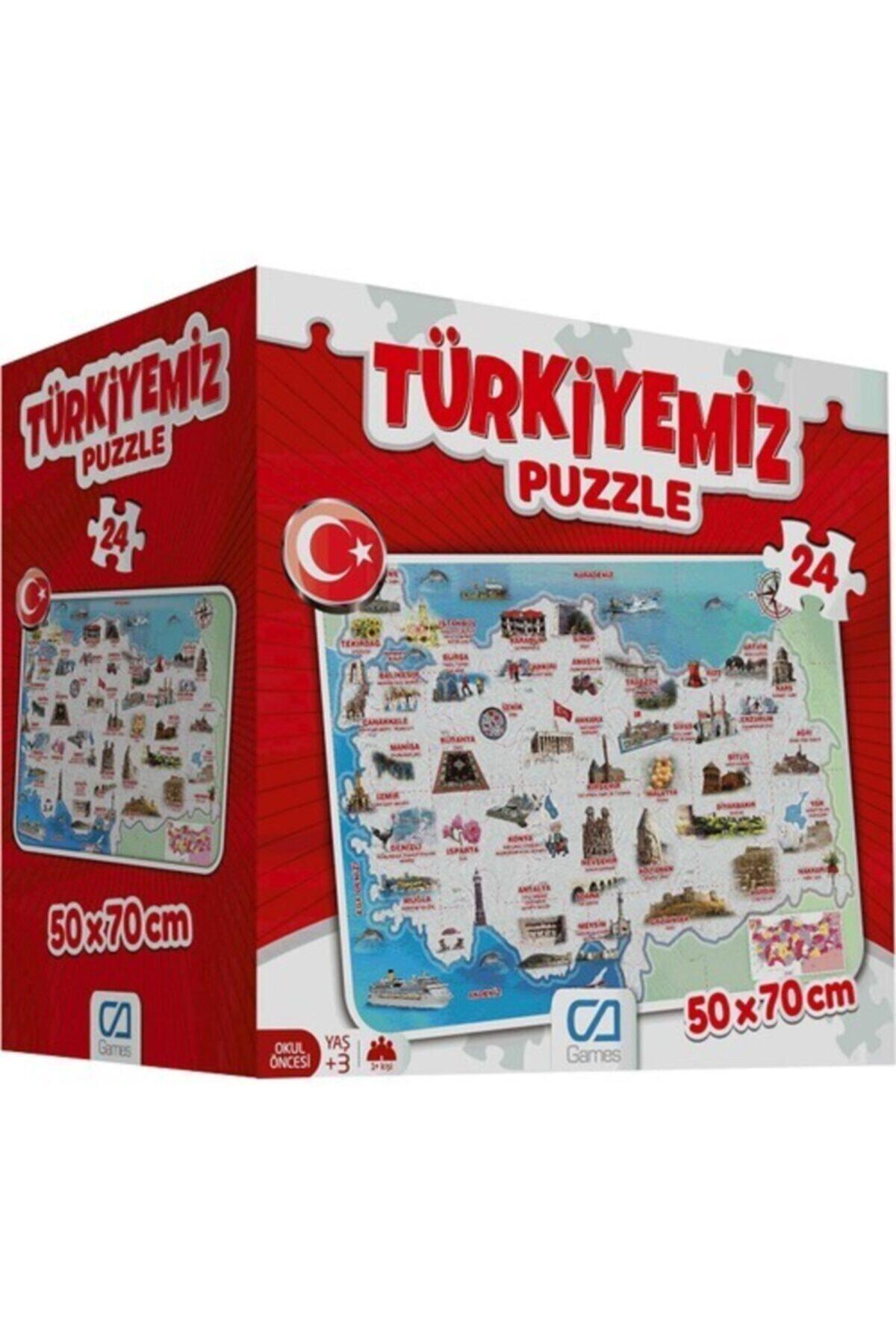 CA Games Ca.5079 Türkiyemiz Yer Puzzle 2