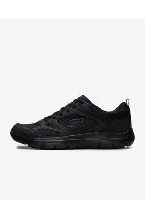 SKECHERS Summıts 999807 Bbk Erkek Siyah Spor Ayakkabı