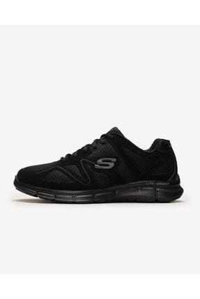 SKECHERS Satısfactıon- Flash Poınt 58350 Bbk Erkek Siyah Spor Ayakkabı