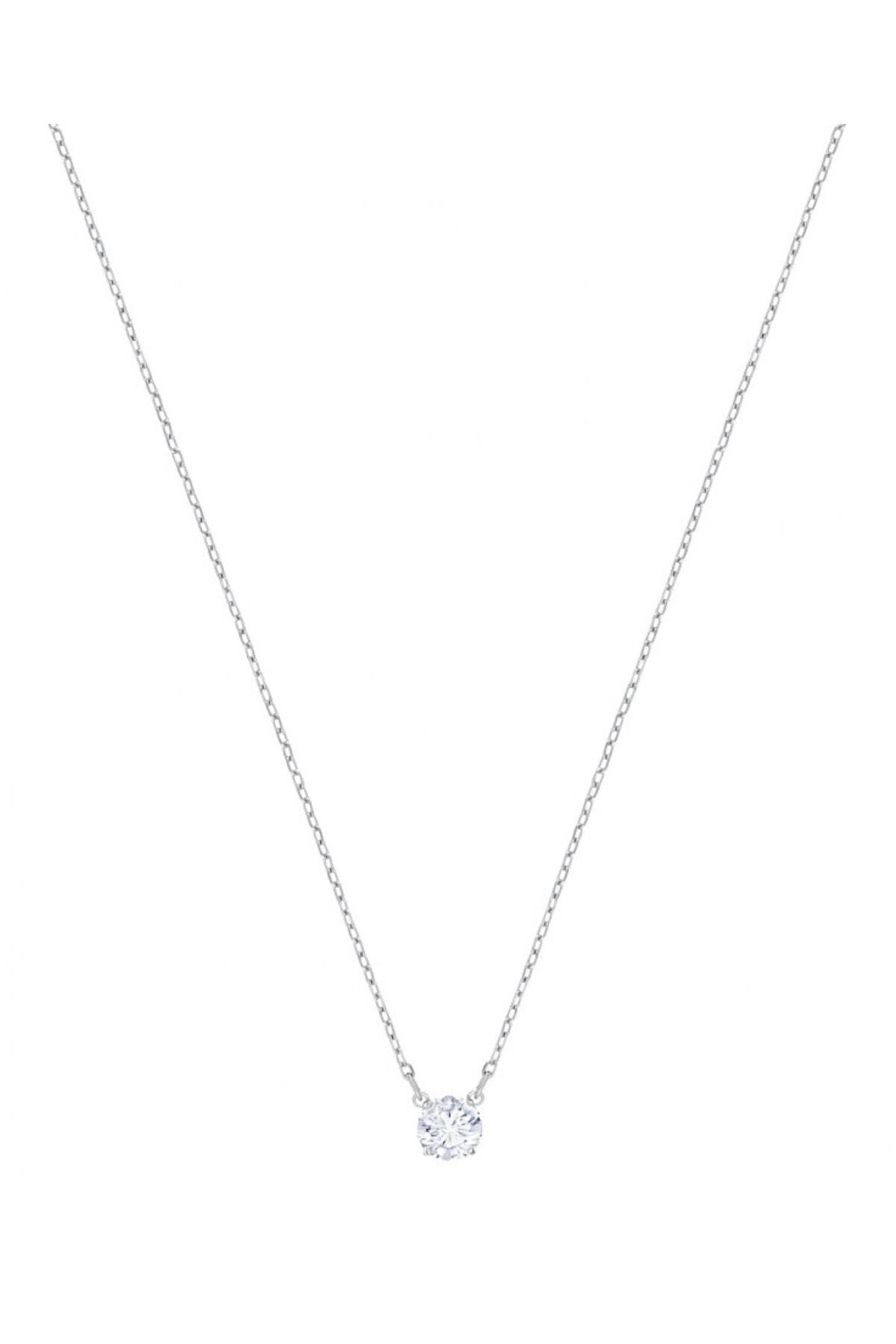 Swarovski Kadın Kolye Attract:Necklace Rnd Czwh/Rhs 5408442 1