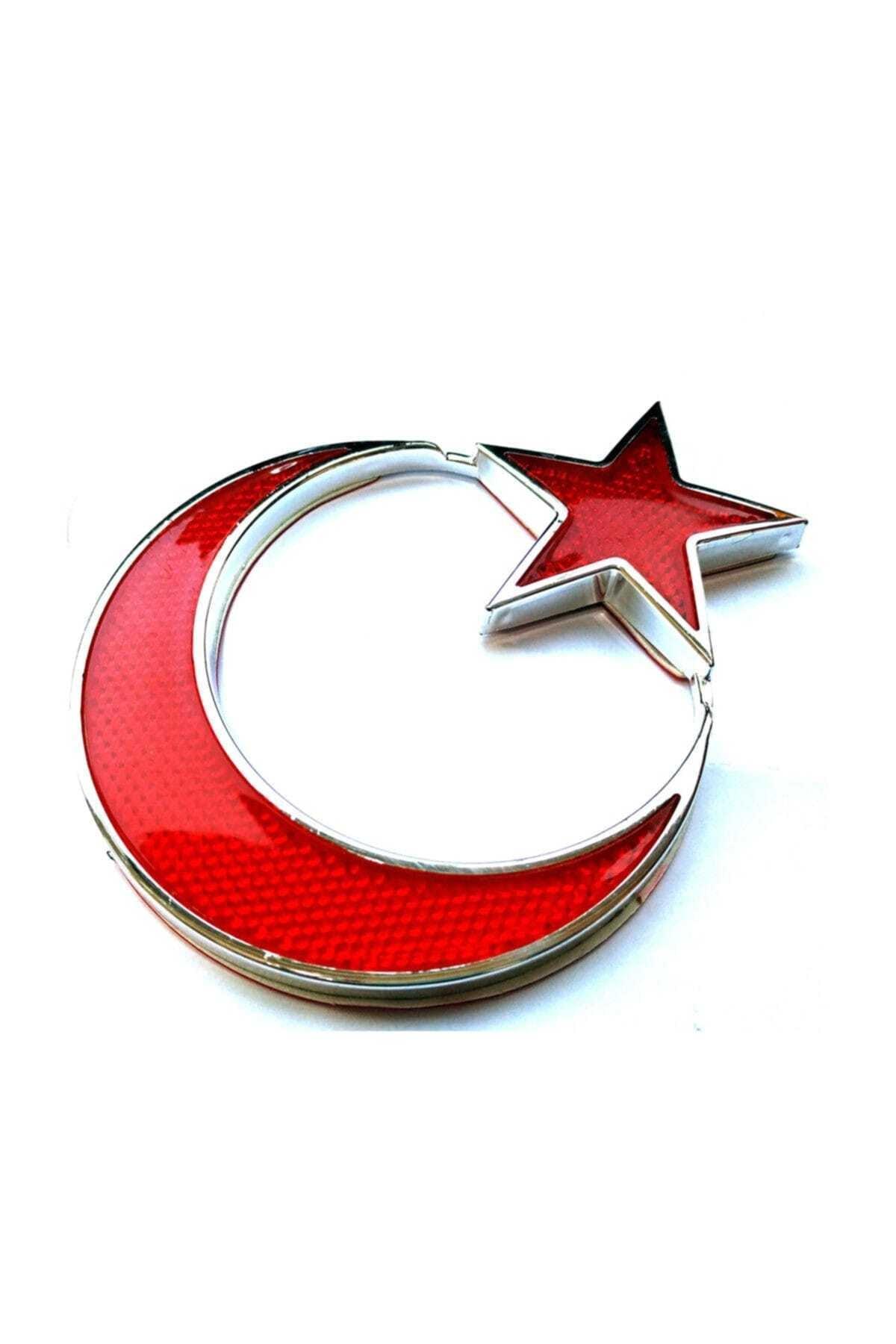 ModaCar Türk Bayrağı Reflektörlü Arma 427260 1