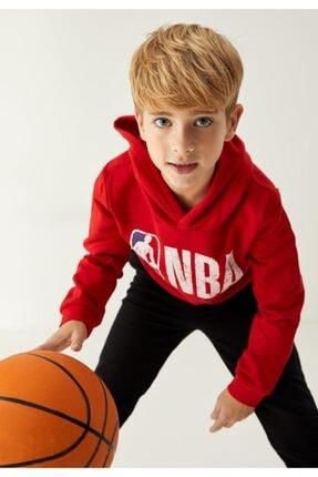 DeFacto Erkek Çocuk Kırmızı Nba Lisanslı Sweatshirt