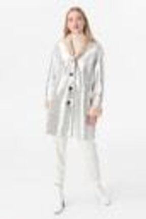 İpekyol Kadın Gümüş Parlak Mont