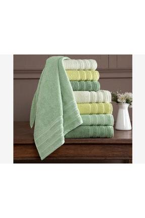 Çeyiz Diyarı Yeşil Banyo Havlusu 4'lü