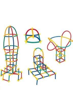 Zekice Oyuncak Zk-e06 Bambu Çubukları Eğitici Birleştirme Aparatlı 300 Parça
