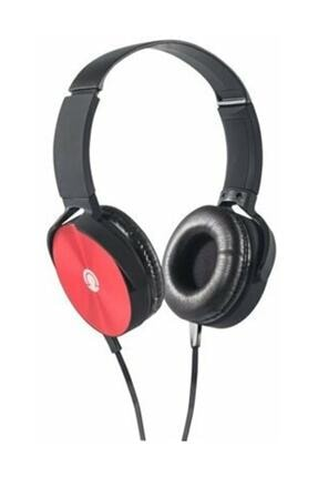 Preo My Sound Ms09 Kablolu Kulakustu Kulaklık Kırmızı