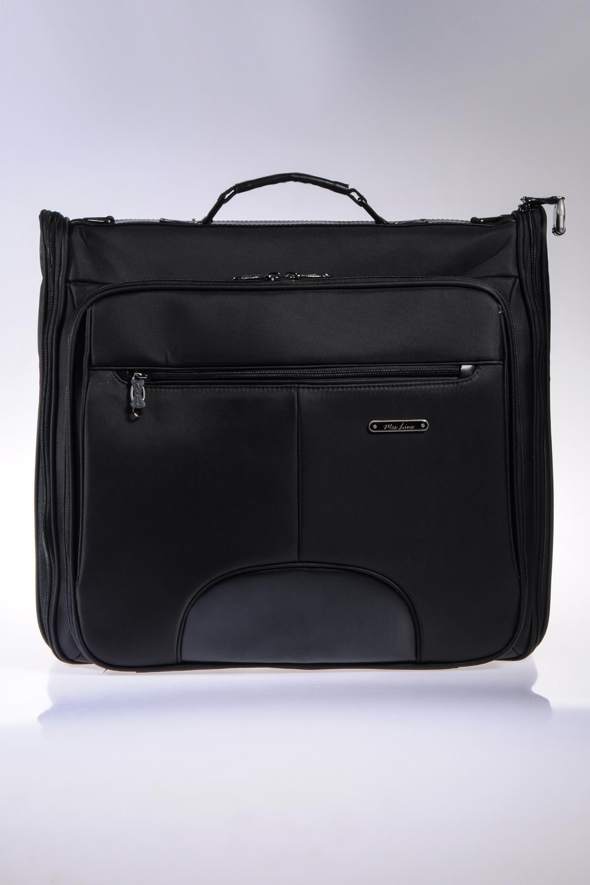 MÇS Mkte1503-s Line Siyah Takım Elbise Çantası 1