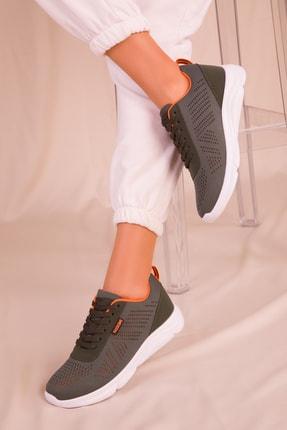 SOHO Yeşil Kadın Sneaker 15884