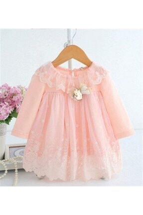 La Boutique BB Kız Bebek Somon Charlotte Elbise