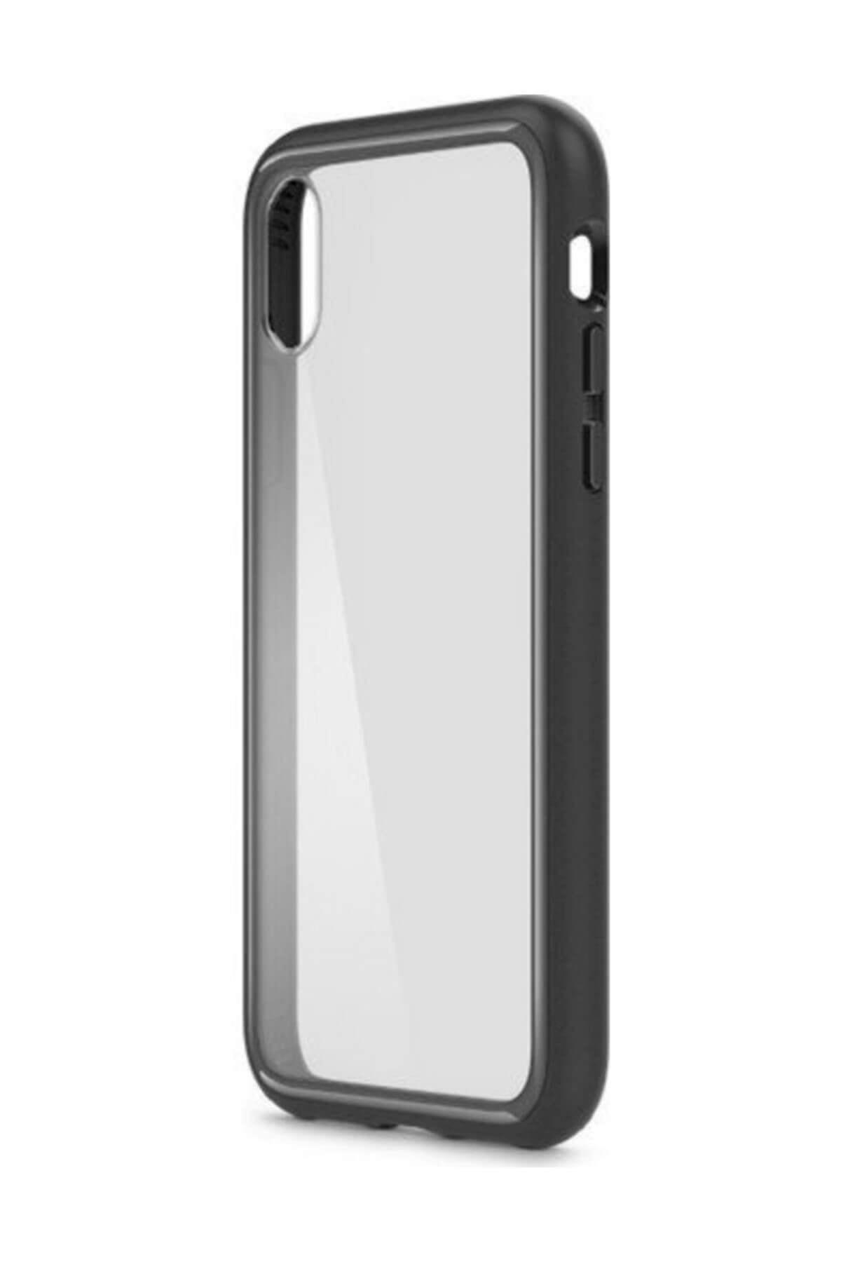 Belkin F8W868BTC00 Elite Protective iPhone X Telefon Kılıfı Siyah 1