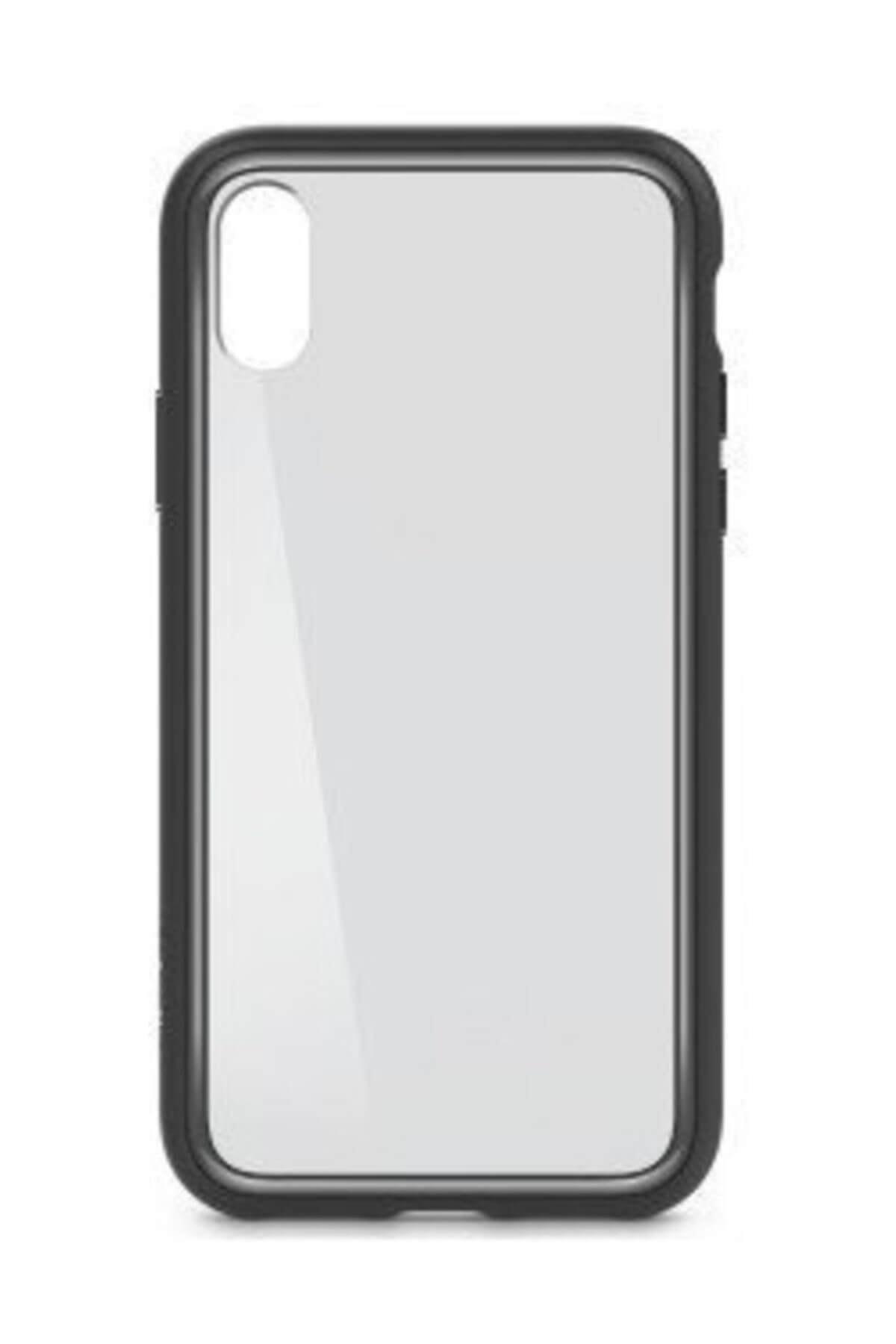 Belkin F8W868BTC00 Elite Protective iPhone X Telefon Kılıfı Siyah 2