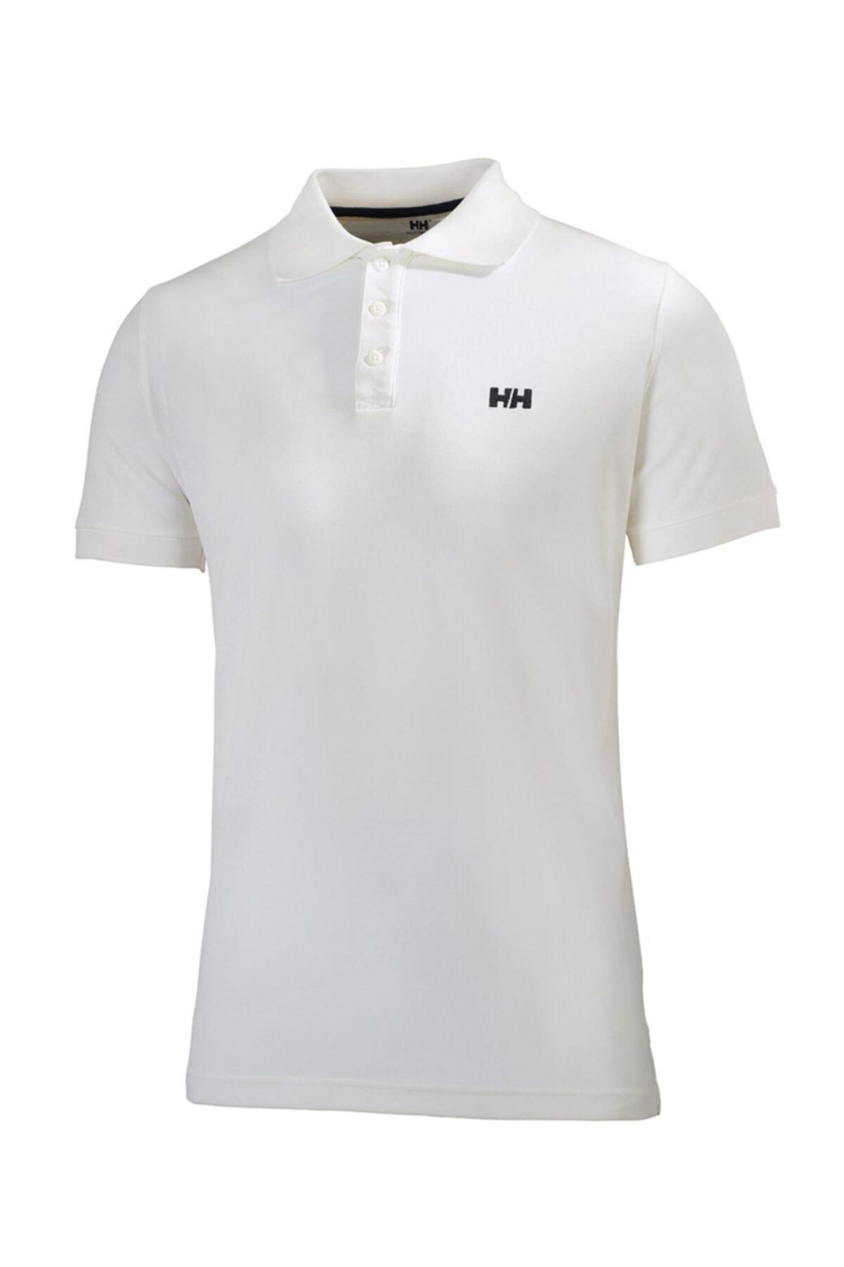 Helly Hansen Driftline Erkek Polo T-shirt Beyaz 1