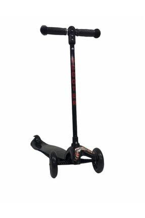 Scooter & Siyah 3 Tekerli Yükseklik Ayarlı Siyah-sct-1000