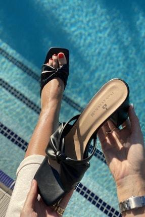 İnan Ayakkabı Ortadan Kalın Düğümlü Terlik