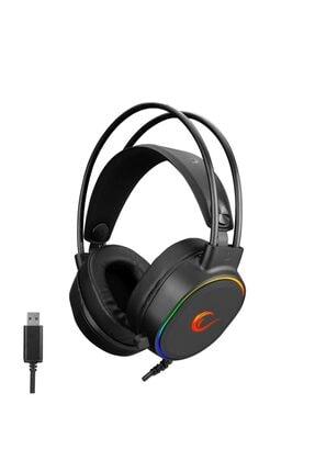 Rampage Rogue Siyah Usb 7.1 Surround Rgb Işık Efektli Gaming Mikrofon & Kulaklık