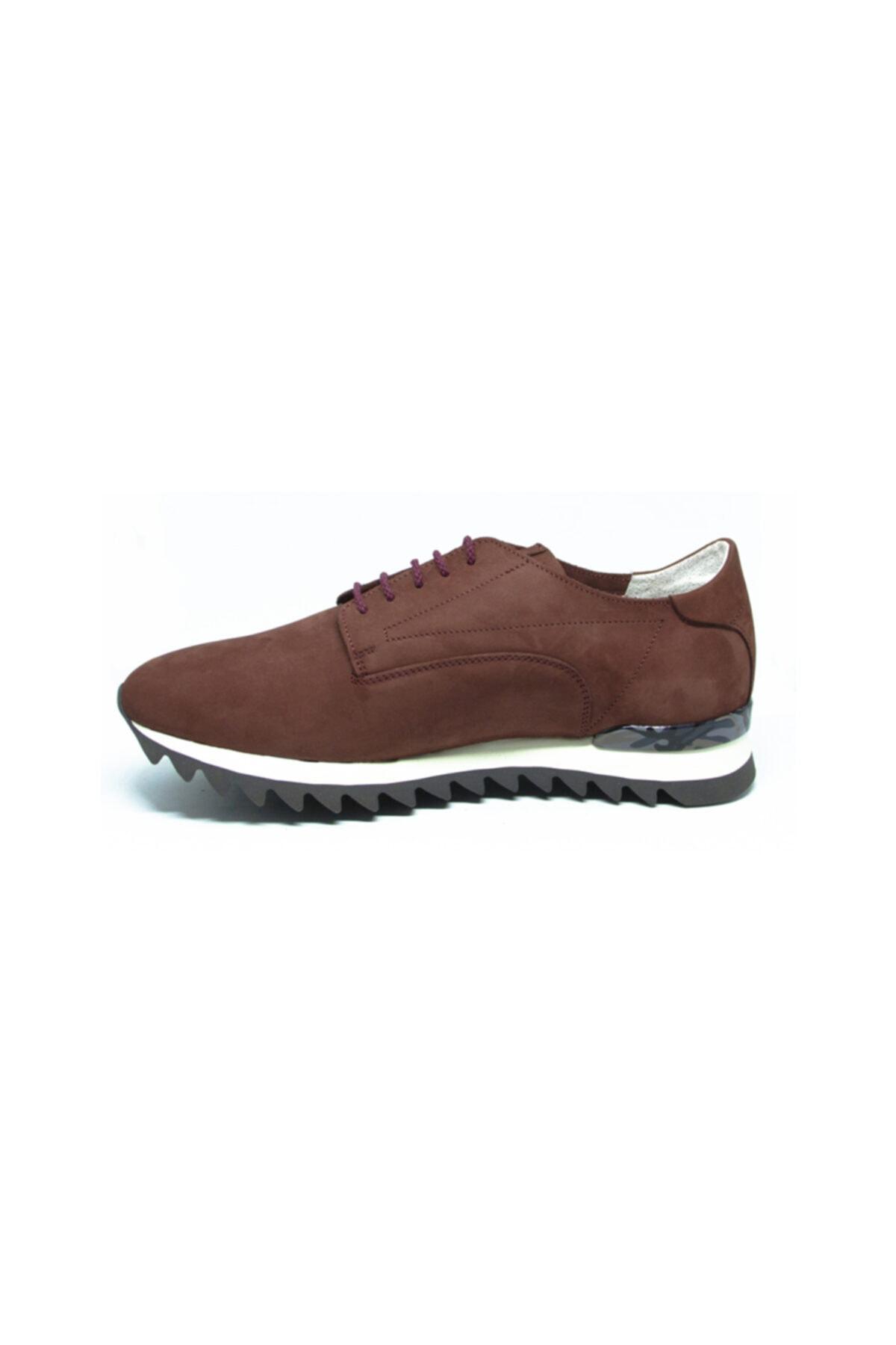 ALBERTO GUARDIANI Erkek Bordo Klasik Ayakkabı 2