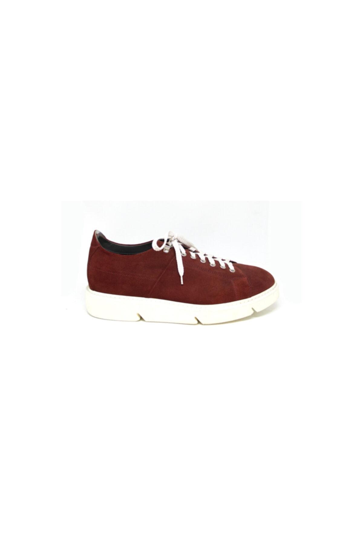 ALBERTO GUARDIANI Erkek Bordo Günlük Ayakkabı 1
