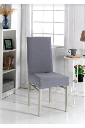 Always 4 Adet Sandalye Kılıfı Yıkanabilir Likralı Esnek Lastikli Sandalye Örtüsü