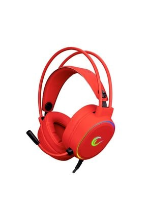 Rampage Rogue Kırmızı 7.1 Surround Sound Rgb Ledli Gaming Oyuncu Mikrofonlu Kulaklık
