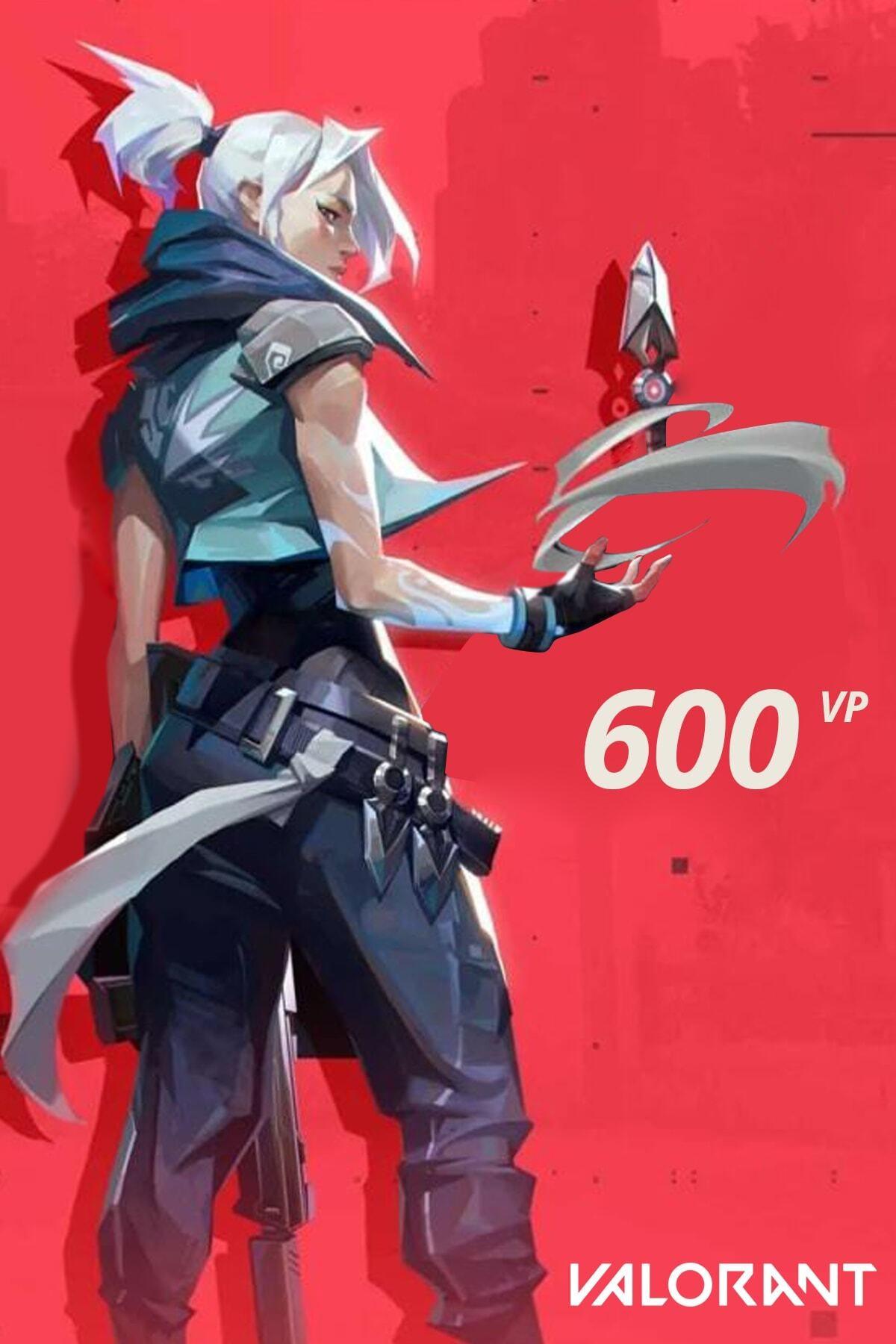 Riot Games 600 VP Valorant Point TR