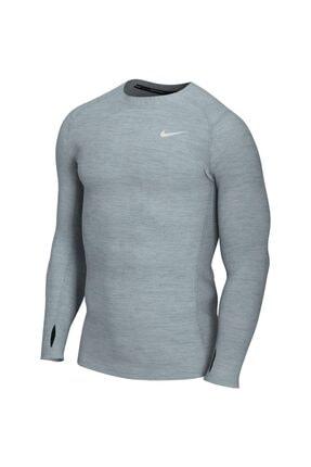 Nike Erkek Gri Men's Dry Fit Long Kazak