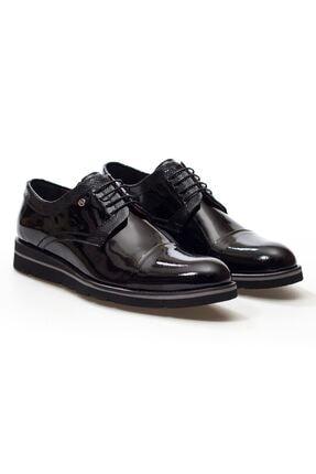 MARCOMEN Siyah Rugan Hakiki Deri Bağcıklı Erkek Günlük Ayakkabı • A20eymcm0029