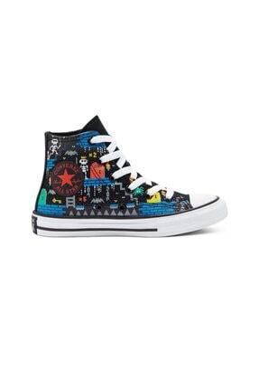 converse Unisex Çocuk Lacivert Bağcıklı Sneaker