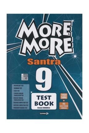 Kurmay Elt Yayınları More And More English 9 Santra Test Book