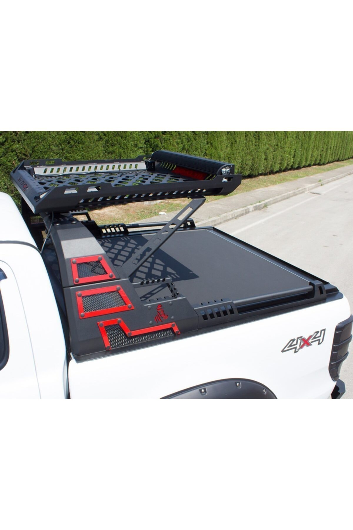 Omsa Toyota Hilux Dakar Rollbar Sepetli Işıksız Siyah 2015 Üzeri 1