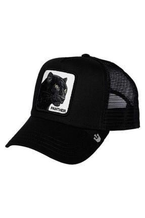 burberk Figürlü Panter Hayvan Model Şapka
