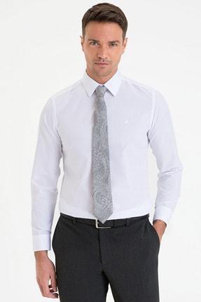 Pierre Cardin Erkek Beyaz Slim Fit Basic Gömlek G021GL004.000.1214552