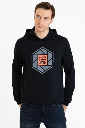 Pierre Cardin Sıyah Erkek Sweatshirt G021Sz082.000.1235930