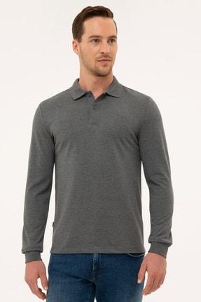 Pierre Cardin Erkek Antrasit Melanj Slim Fit Sweatshirt G021GL082.000.1100692