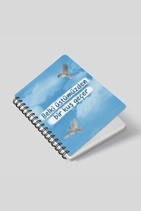 Masa Dergi Üstümüzden Bir Kuş Geçer Telli Defter