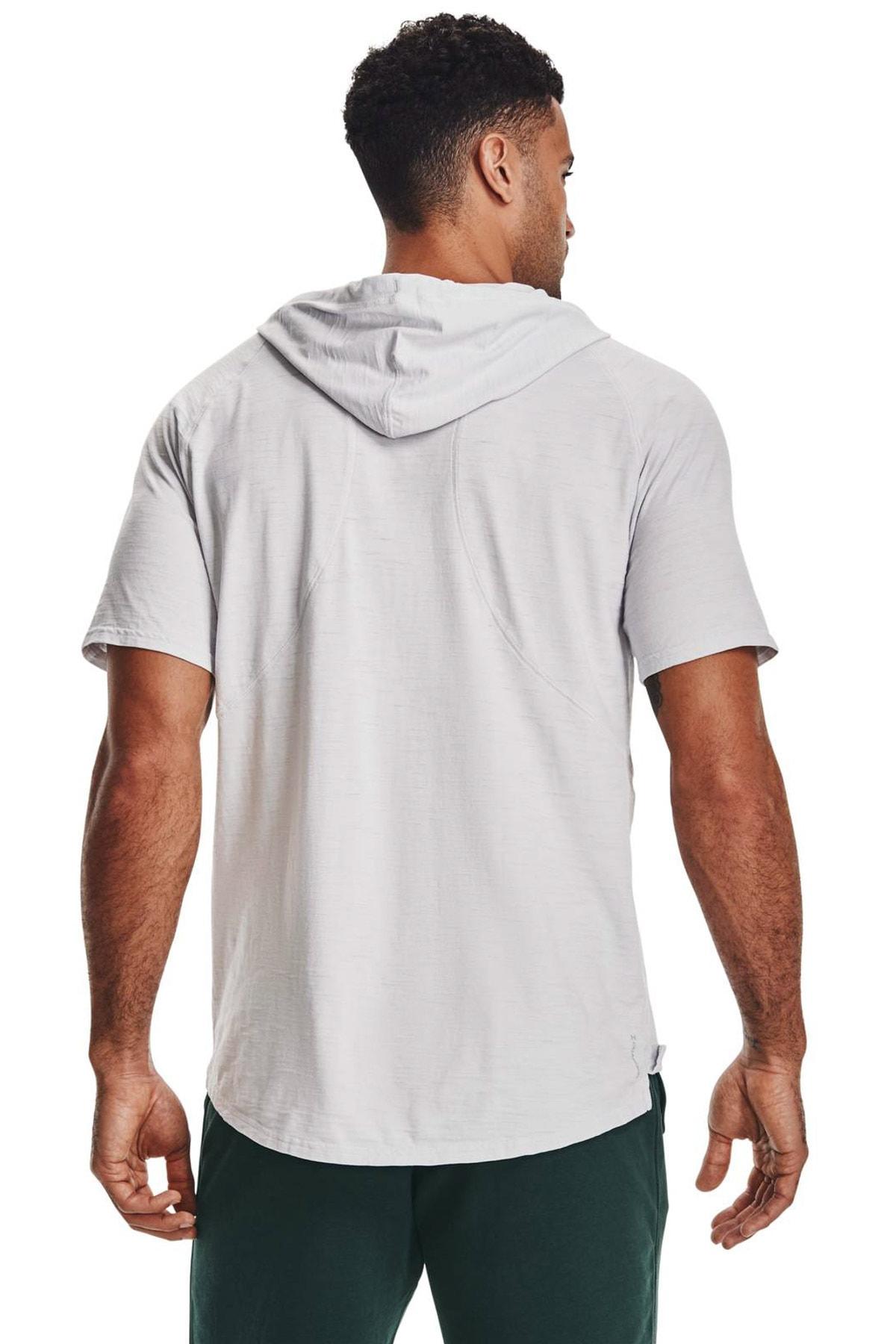 Under Armour Erkek Spor Sweatshirt - UA PROJECT ROCK CC SS HD - 1361719-014 2