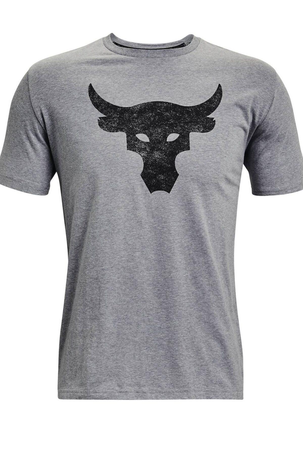 Under Armour Erkek Spor T-Shirt - UA Pjt Rock Brahma Bull SS - 1361733-035 1