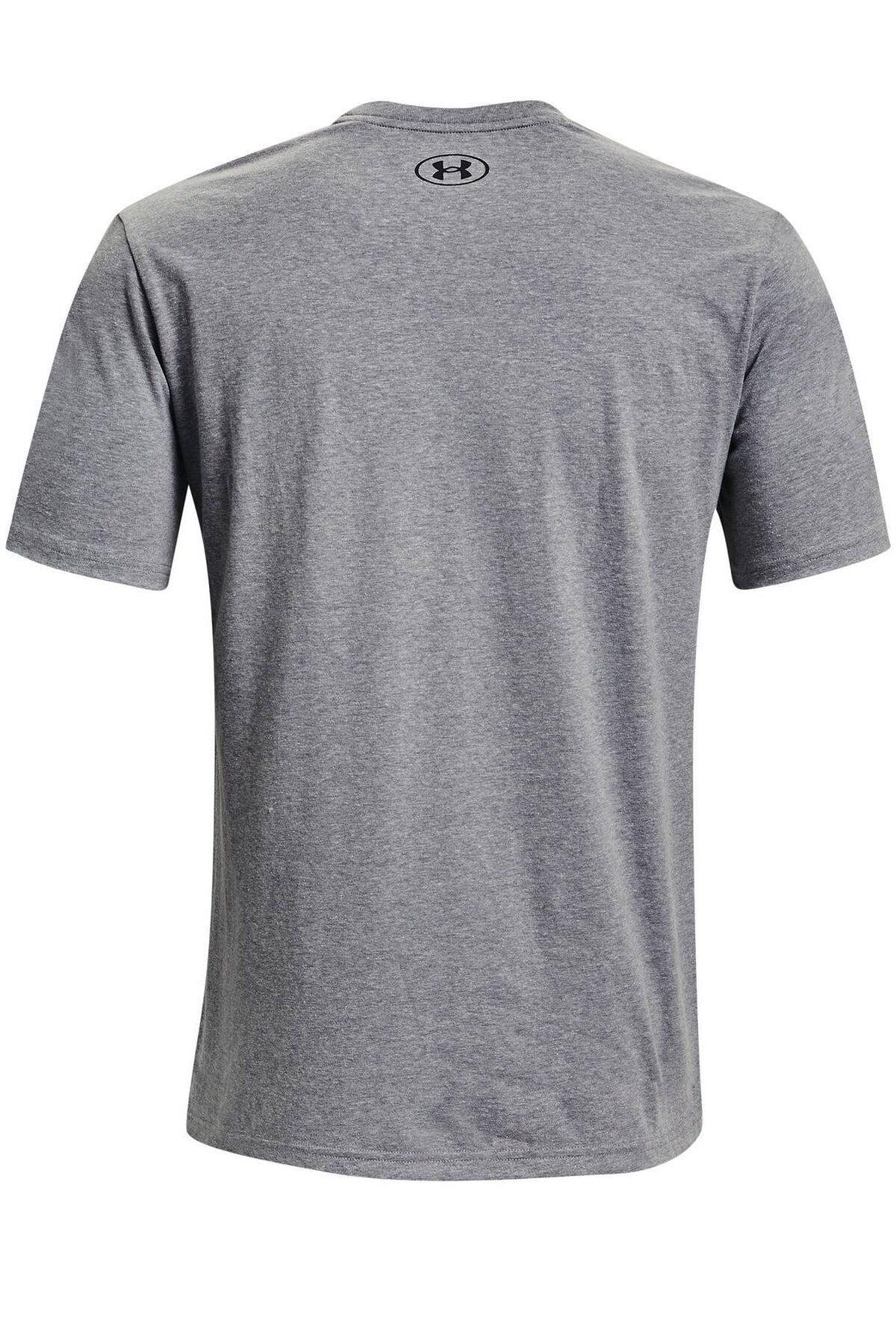 Under Armour Erkek Spor T-Shirt - UA Pjt Rock Brahma Bull SS - 1361733-035 2