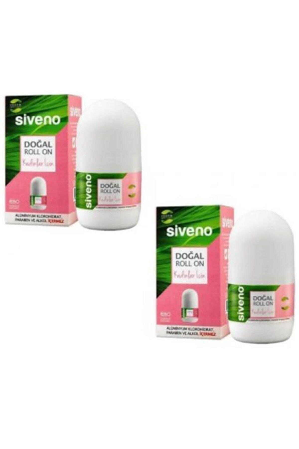 Siveno %100 Doğal 2'li Kadın Roll-on Seti 50 ml 1